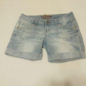 Wallflower Jean Shorts Size 7